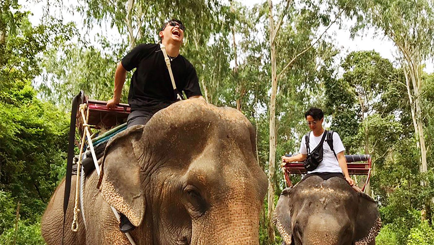 同期二人旅・タイ