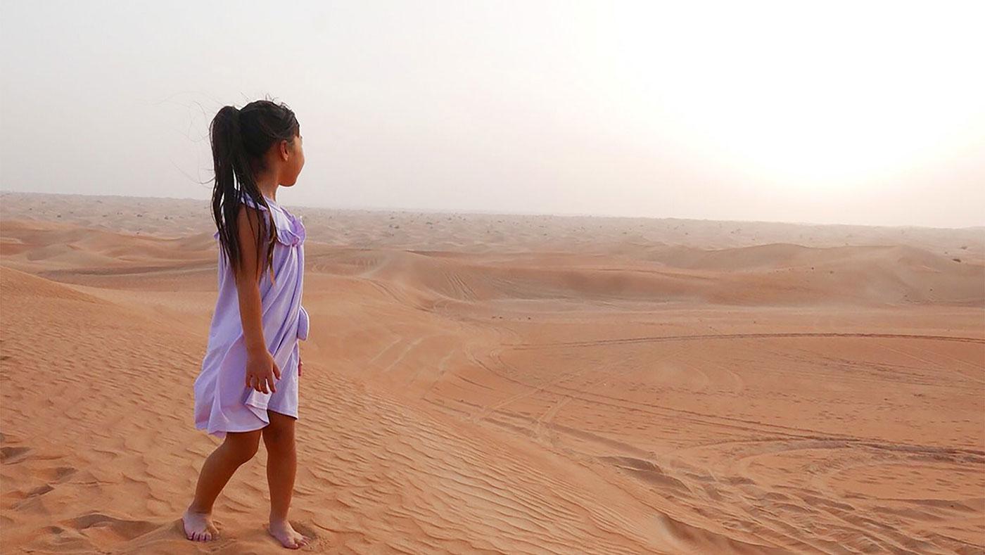 大きな砂場「ドバイ」